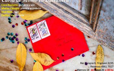 Viernes 18 Mayo -Carta de Momo en Blalvanera