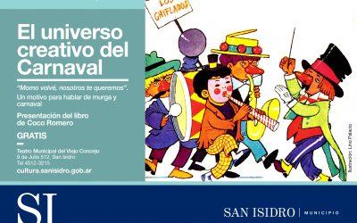 Presentación del libro Universo creativo del Carnaval en San Isidro